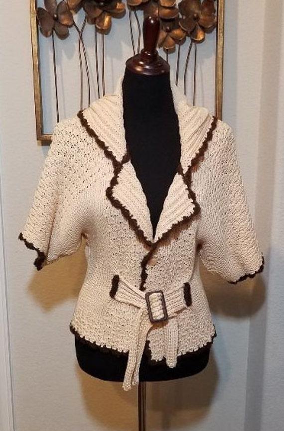 Sweater Sweater Crochet Blazer, Crochet Sweater Ja
