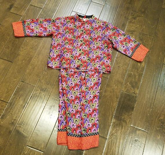 Silk Pajamas, Silk Intimates, Luxury Lounge Wear,… - image 1