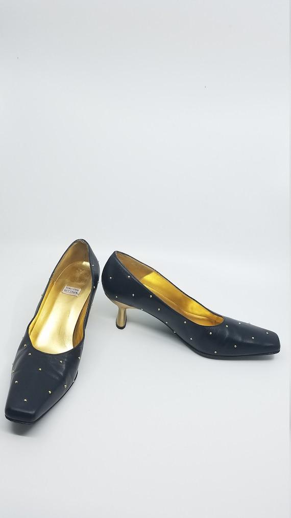 Vintage Timothy Hitsman Shoe, Square Toe, Vintage