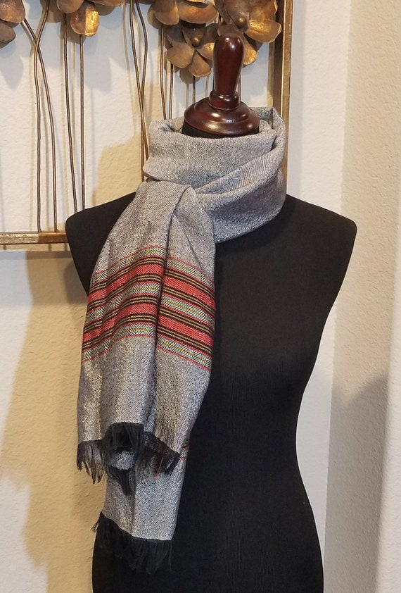 Men's Dress Scarf, Classic Men's Scarf, Coat Scarf