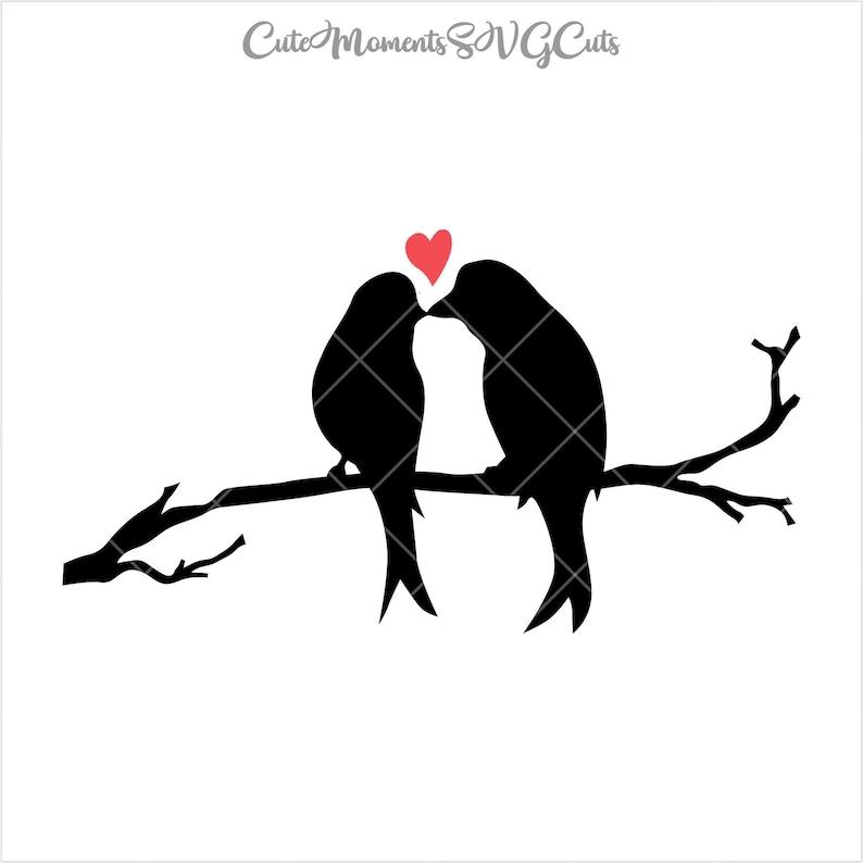 Birds in Love, Birds SVG Bundle, Birds, Love, Love Forever, Bird Couple,  Silhouette, Cricut, clipart digital download svg, eps, dxf, png