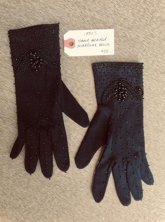 1950's vintage gloves