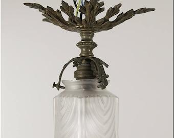 Art Nouveau lamp, France at 1900; Original