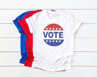 c8c668ca Vote t-shirt, Bella Canvas, Vote Shirt for Women or Men, Voting T-Shirt, Political  Tee, Midterm Election 2018