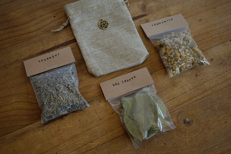 DIY Witch Sachets - Dried Herbs and Flowers - Witchcraft - Make Your Own  Spell Pouches - Wicca - Pagan - Magic - Witches Supply - Witch Kit