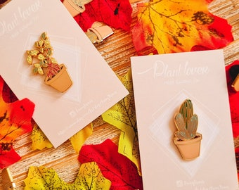 Plant Lover Pin's