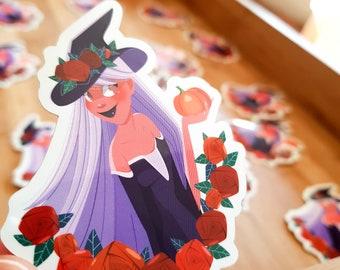 Sticker Witch