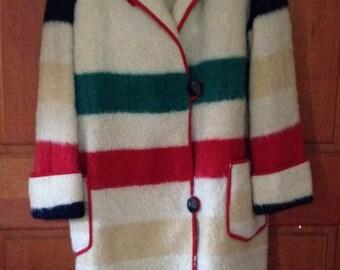 Vintage Blanket Coat