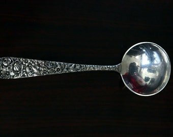 "Castle Rose by Royal Crest Sterling Silver Soup Ladle 10 1//2/"" HHWS  Custom Made"