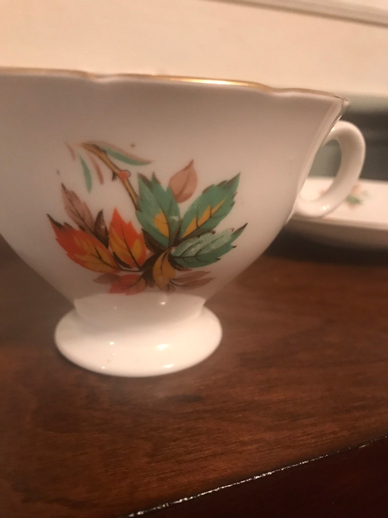 Vintage Radfords Bone China Teacup and Saucer Made in England Free Shipping