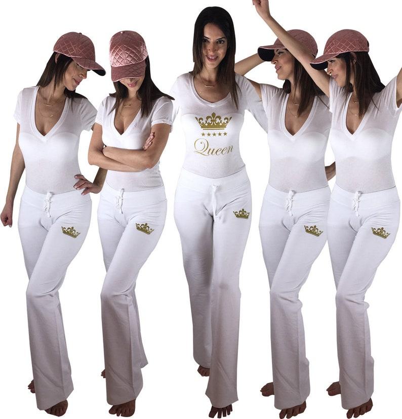 ed24c3806f7 Bachelorette Party Matching Loungewear Pajama Party Matching