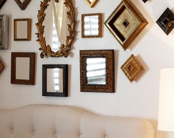 Small Mirrors, Decoration Mirrors, Vintage Mirrors, Small Framed Mirrors, Mirror  Wall, Mirror Wall Display, Above The Bed Art, Tiny Mirrors.