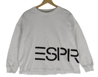 RRP £25 . Dark Grey Size 8-9 Years Esprit Sweatshirt 100/% Cotton