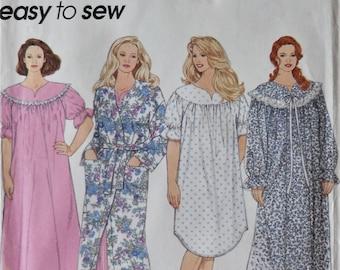 Cozy knit granny nightgown XL