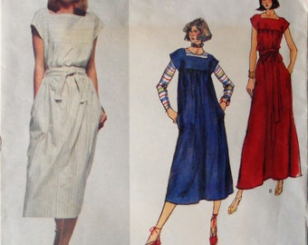 a3ffbb23cc7 Christian Dior Vogue Paris Original pattern. Vintage 1980 s Christian Dior  dress pattern. Christian Dior couture dress. Size 8