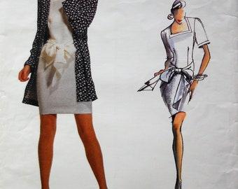 1d205329f9 Betty Jackson Vogue Individualist pattern. Vintage 1988 Betty Jackson dress  and jacket pattern. Betty Jackson couture. SZ 12-16