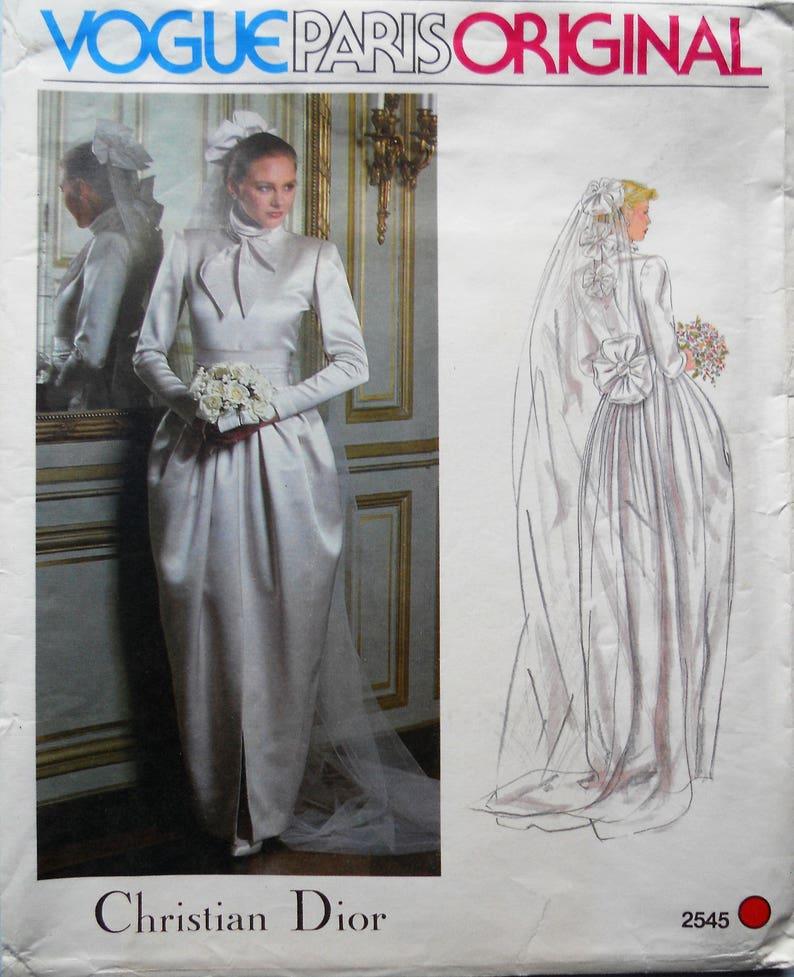 Robe de mariee dior vintage
