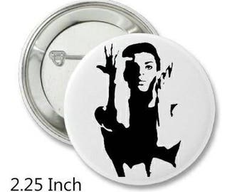 2.25 Inch Pin Back Button - Prince - FREE SHIPPING
