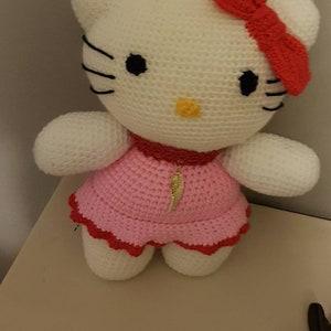 Hello Kitty In Japan Amigurumi | Fat Face & Me | 300x300