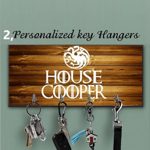 10 Schlüsselanhänger mit Karabiner und Aufhänger Kettenanhänger