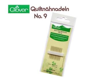 Clover Quiltnähnadeln No. 9