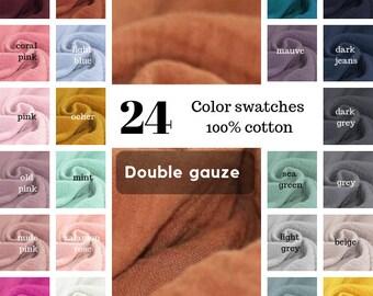 601e7fda0 Double gauze fabric