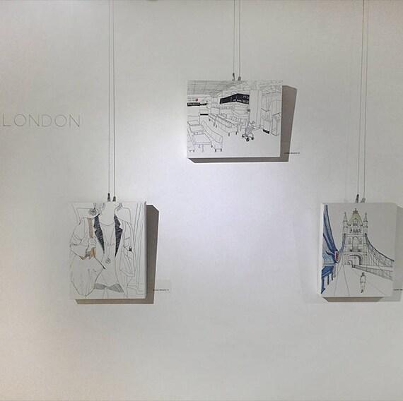 8x10 Canvas Print / London Moment Series