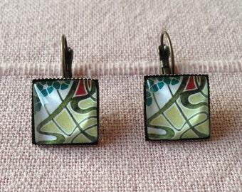 Art Nouveau Earrings Earrings