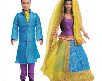 Indian Barbie & Ken India Mattel (Color May Vary) birthday gift Barbie