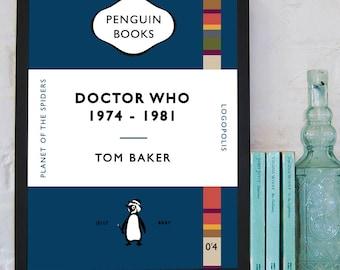 Dr Who - Penguin Book cover artwork