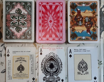 Readings with Antique Fortune Telling Deck of Playing Cards