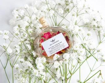 Crystal Infused Divine Feminine Botanical Perfume Oil,  Empowering your DIVINE FEMININE ENERGY | Perfume Oil for Women, Spiritual Gift