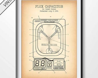 Flux Capacitor Etsy. Flux Capacitor Poster Patent Print Fantasy Blueprint Movie Decor Back To The Future Illustration Art Dr Emmet. Wiring. Flux Capacitor Wire Diagram At Scoala.co