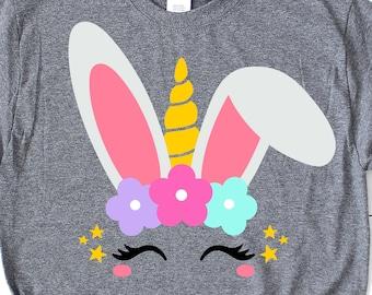 172584ed8 Easter Unicorn Svg, Bunny Unicorn Svg, Eyelash Unicorn, Easter Bunny Svg,  Girl Easter Svg, Bunnycorn Shirt Svg Cut File for Cricut, Png, Dxf
