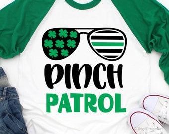 Pinch Patrol Black TShirt Pinch Patrol St Patricks Day Boy Saint Patricks Day Lucky