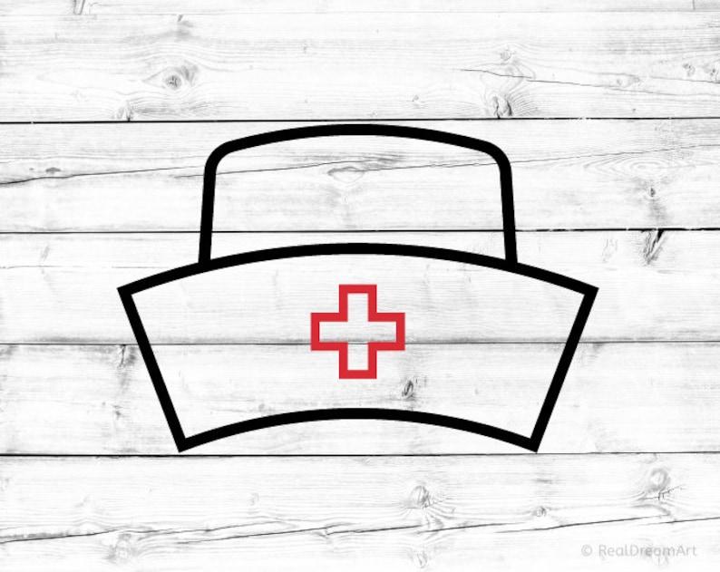 photo about Printable Nurse Hat Template titled Nurse Hat Svg Nurse Svg Nurse Hat Svg for Cricut Nurse Hat Svg for Silhouette Medical doctor Svg Health care Svg Med University student Svg Nurse Everyday living Svg Png History