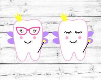 Tooth Fairy Svg Cuttable Fairy Svg Tooth Svg Baby Girl Svg Kids Svg Kids Cut File Silhouette Cricut Svg Designs Svg Cut File Teeth Fairy Png