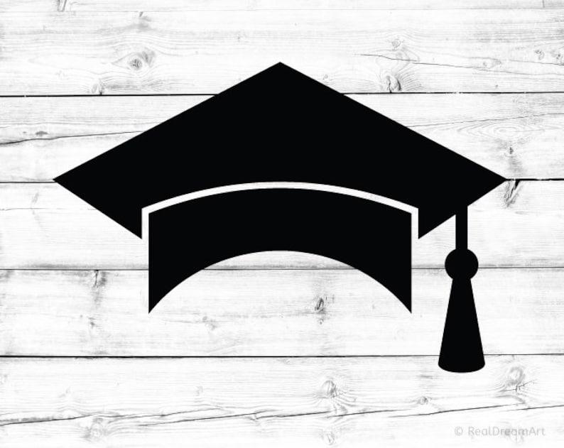 Graduation Cap Svg Square Academic Cap Svg Tassel Svg Graduation Hat Svg  Graduation Cap Silhouette Svg for Cricut Svg for Silhouette Png