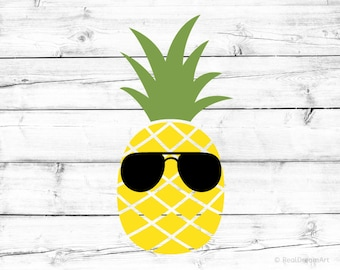Pineapple with Sunglasses Svg Pineapple Svg for Cricut Pineapple Silhouette Shades Svg Pineapple Png Vacay Mode Summer Svg for Silhouette