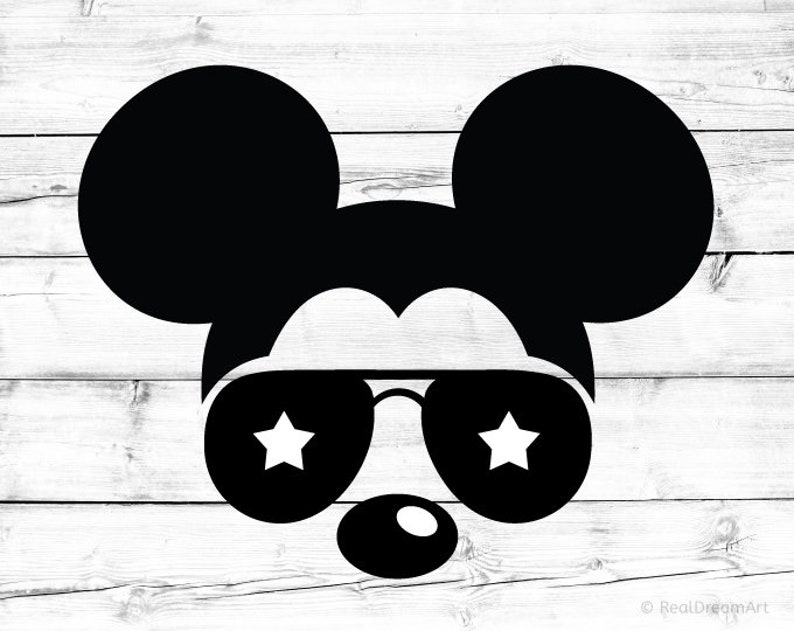 8519193f14 Mickey Mouse Svg Disney Svg Sunglasses Svg Aviators Svg