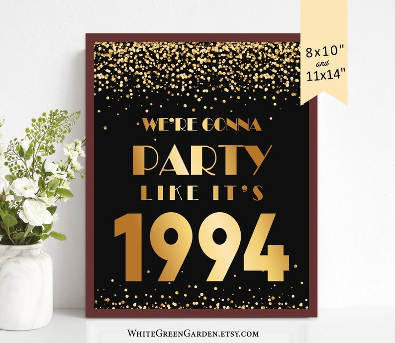 25th Birthday Party Decoration Ideas For Men Women Him Her