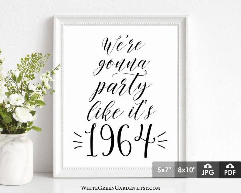 55th Birthday Party Decoration Ideas For Women Men Centerpiece