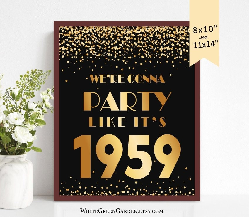 60th Birthday Party Decoration Ideas For Women Men Centerpiece