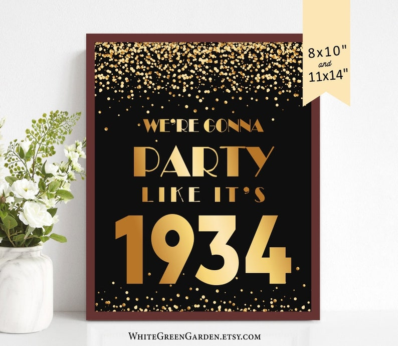 85th Birthday Party Decoration Ideas For Men Women Him Her