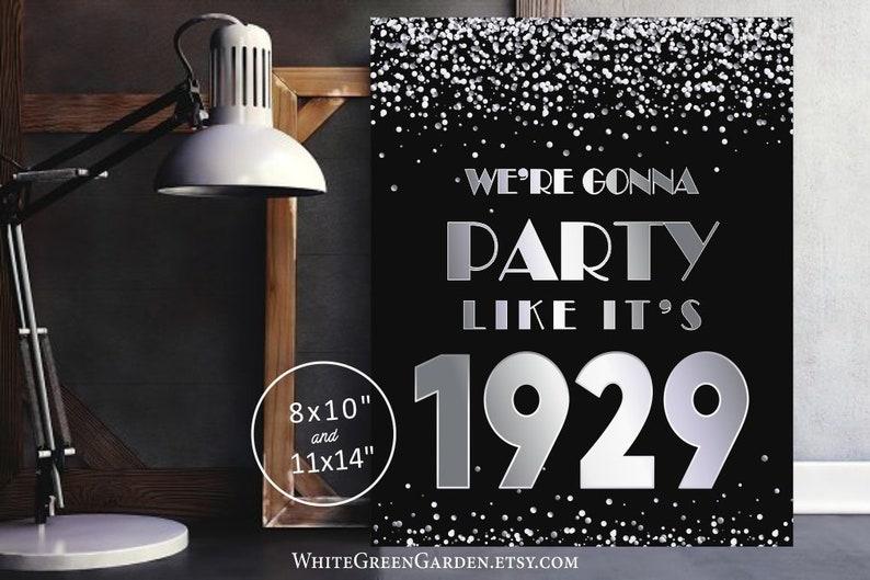 90th Birthday Party Decoration Ideas For Women Men Centerpiece