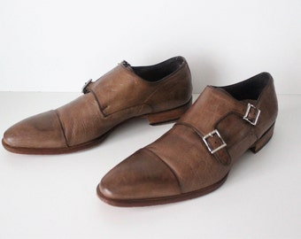 713323cf583b9 Vintage Black 100% Genuine Leather Genuine Hand Lasted PLAYBOY | Etsy