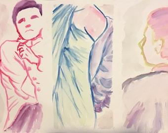 Live modeling studies 4