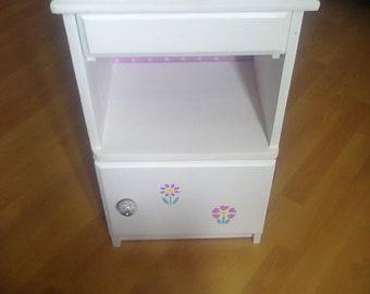Andrea's Bedside Cabinet