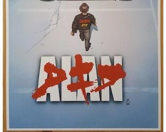 Alan/Akira A4 Print
