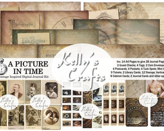 A Picture in Time - Digital Journal Kit